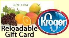 Kroger Reloadable Gift Card Fundraiser