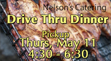 Nelson's Catering - Drive-thru Chicken/Pork Dinner