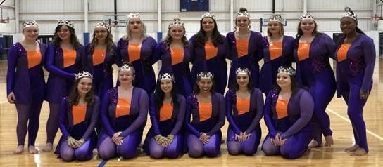 Winter Guard in costume
