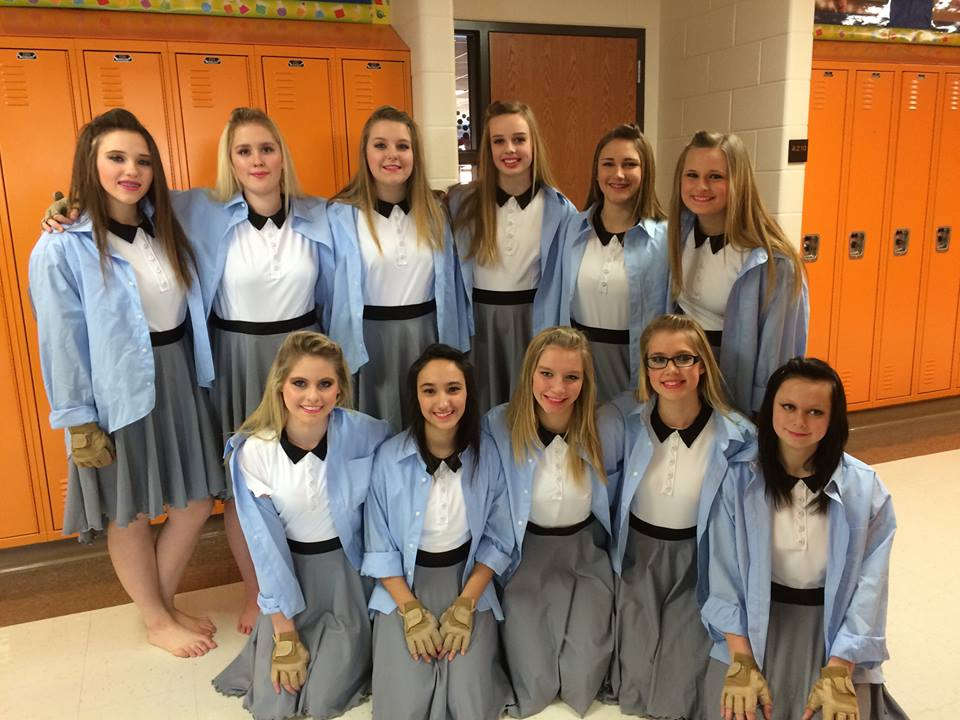 Winter Guard Participants