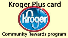 Kroger Community Rewards program and the Kroger Plus Card logo