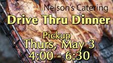 Nelson's Catering - Drive-thru Chicken/Pork Dinner