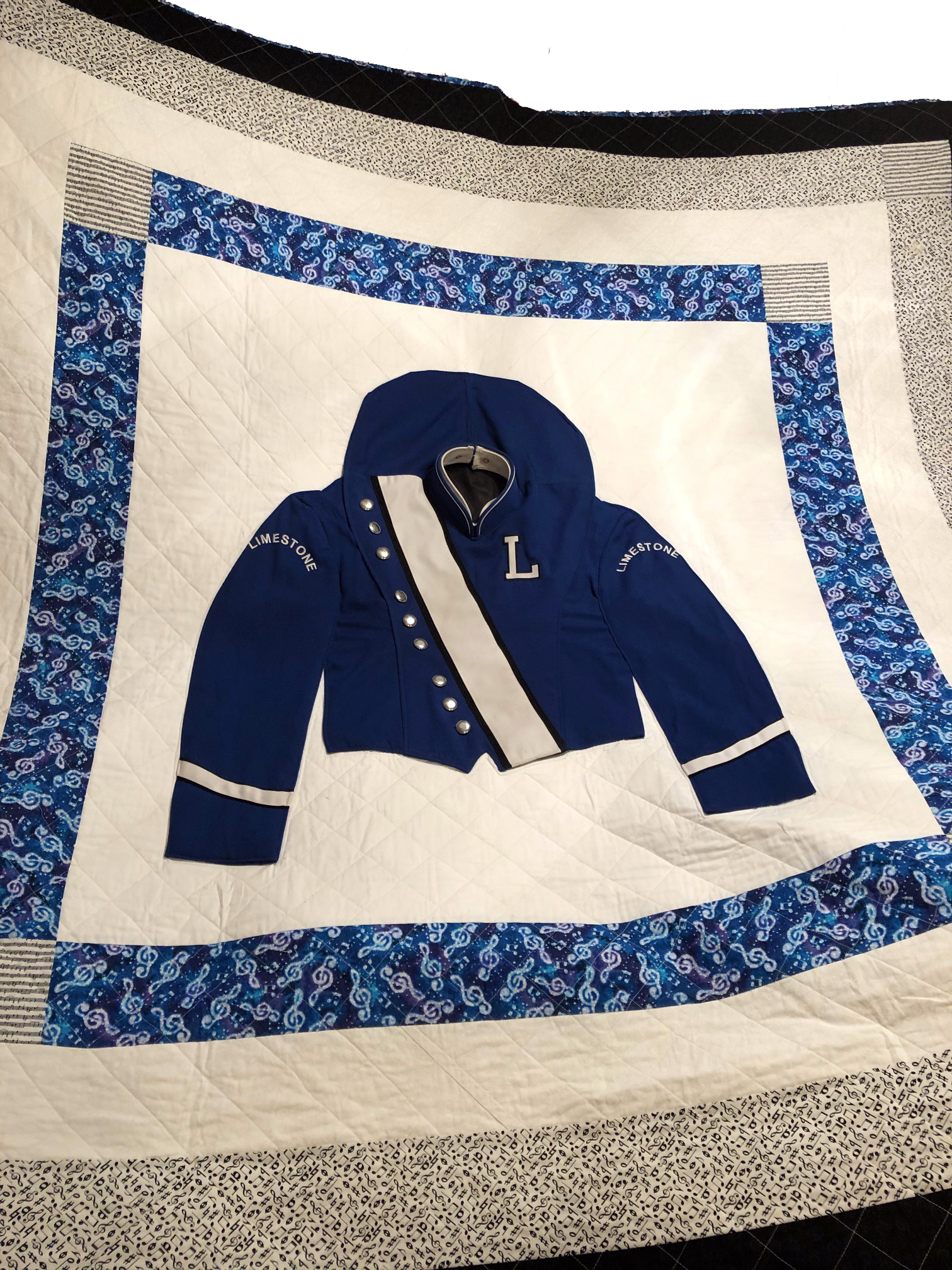 Quilt from uniform