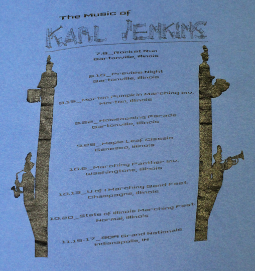 Karl Jenkins t-shirt-back
